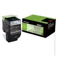 Консуматив Lexmark 802K Black Return Program Toner Cartridge