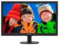 "Philips 273V5LHAB 27"" LCD Slim FHD монитор черен"
