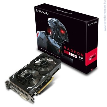 Видео карта Sapphire RX 460 2GB DDR5 Polaris Видео карта SAPPHIRE Video Card RADEON RX 460 2G GDDR5 PCI-E HDMI / DVI-D / DP OC (UEFI)- видеокарта с новата авангардна Polaris архитектура