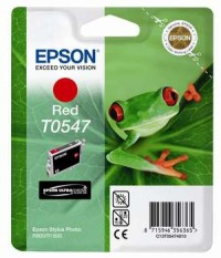 Epson T0547 Red Cartridge - Retail Pack (untagged) for Stylus Photo R800/1800