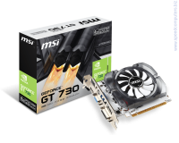 Видеокарта MSI GeForce GT 730 4GB GDDR3 128bit