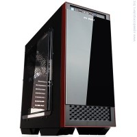 In Win 503 Mid Tower ATX Черен Кутия