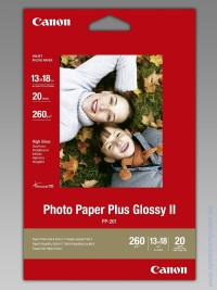 Canon Plus Glossy II PP-201, 13x18 cm, 20 sheets