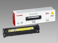 Canon CRG716Y Toner Cartridge for LBP5050, LBP5050n (1500 pgs)