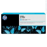 Консуматив HP 771C 775-ml Light Cyan Designjet Ink Cartridge