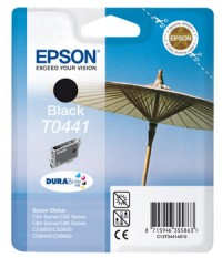 Epson T0441 Black Ink Cartridge (Standard) - Retail Pack (untagged)