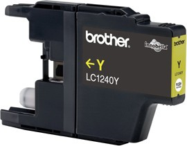 Brother LC-1240 Yellow Ink Cartridge for MFC-J6510/J6910 Brother MFC-J6510DW, MFC-J6710DW, MFC-J6910DW
