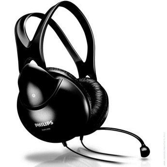 Слушалки Philips SHM1900 с микрофон Слушалки с микрофон Philips SHM1900
