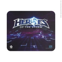SteelSeries QcK Heroes of the Storm Logo Геймърски пад черен