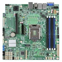 Intel® Server Board DBS1200SPSR LGA1151 4xDDR4 Дънна платка