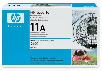 HP LaserJet 2410/20/30 Smart Print Cartridge, black (up to 6,000 pages) Съвместимост : HP LaserJet 2420/2430Цвят : Черен Q6511A