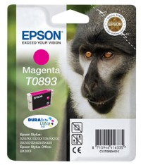 Epson T0893 Magenta Ink Cartridge - Retail Pack C13T08934011