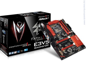 Asrock Fatal1ty E3V5 Performance Gaming/OC дънна платка ASRock Super Alloy