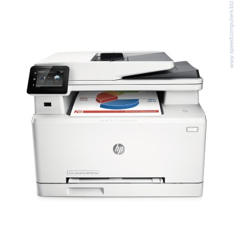 HP Color LaserJet Pro MFP M277dw Лазерно многофункционално устройство  Достъпни функции  Принтиране, копиране, сканиране, факс