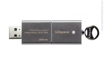 Флаш памет Kingston DataTraveler Ultimate 3.0 G3 32GB USB 3.0 Metal Флаш памет Kingston DataTraveler Ultimate 3.0 G3 32GB USB 3.0 Metal