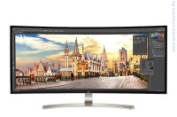 "LG 38UC99-W 37.5"" UltraWide® WQHD IPS Curved LED монитор"