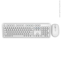 Dell KM636 Wireless клавиатура + мишка бял