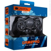 Джойстик CANYON 3in1 wired controller gamepad