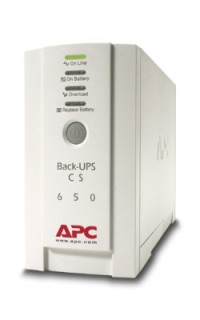 APC Back-UPS CS 650VA, USB or serial connectivity