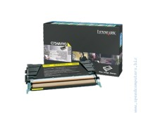 Консуматив Lexmark C734, C736, X734, X736, X738 Yellow Return Programme Toner Cartridge (6K)