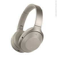 Sony MDR-1000X Overhead Bluethooth NFC Noise Cancelling слушалки бежов