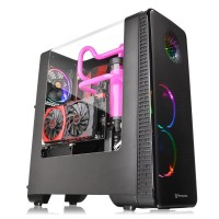 Thermaltake View 28 RGB Ring Edition Black ATX кутия