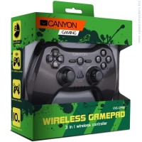 Джойстик CANYON 3in1 wireless gamepad