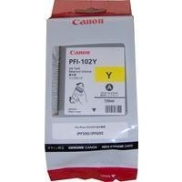 Canon Dye Ink Tank PFI-102 Yellow for iPF500, iPF600, iPF700
