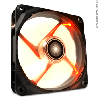 NZXT FZ 140MM FAN RF-FZ140-R1 RED Led вентилатор Optimized for extreme airflow 140mm fan with minimal speeds of 1200+/- 20% RPM