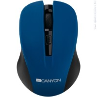 Мишка CANYON Mouse CNE-CMSW1 син