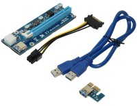 Mining Riser PCI Express 1x to 16x адаптер  USB- 60cm