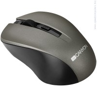 Мишка CANYON Mouse CNE-CMSW1 сив
