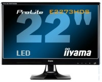"IITAMA E2273HDS 21.5"" TN TFT LCD Full HD монитор"