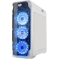 Segotep LUX White Transparent Case ATX Кутия