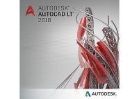 Autodesk AutoCAD LT 2018 Commercial New Single-user Програмен продукт 2 год.
