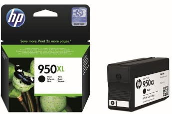 HP 950XL Black Officejet Ink Cartridge HP Officejet Pro 8100 ePrinter series, HP Officejet Pro 8600 e-All-in-One series