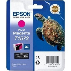 Epson T1573 Vivid Magenta for Epson Stylus Photo R3000 for Epson Stylus Photo R3000