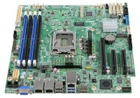 Intel® Server Board S1200SPLR LGA1151 4xDDR4 Дънна платка