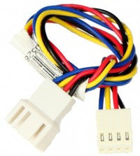 Supermicro Cable SM 9-inch 4-pin fan power extension cord