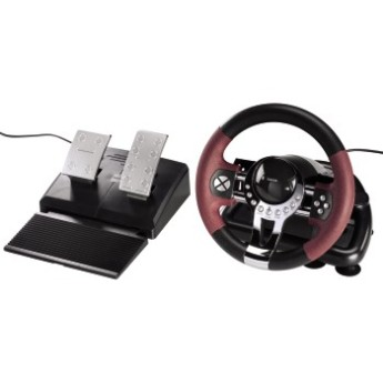 HAMA Кормило с вибрации USB Thunder V5 2in1 racing wheel for Sony PS3 and PC