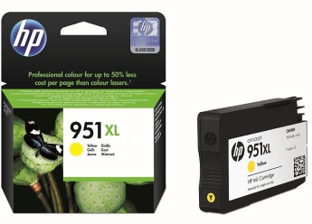 HP 951XL Yellow Officejet Ink Cartridge HP Officejet Pro 8100 ePrinter series, HP Officejet Pro 8600 e-All-in-One series