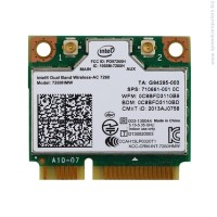 Intel Dual Band Wireless-AC 7260 + Bluetooth  HMC Мрежова карта