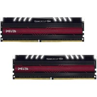 TEAM GROUP DELTA WHITE DDR4 16GB (2X8GB) 3000MHZ Памет