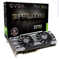 EVGA GeForce GTX 1080 SC GAMING ACX 3.0 8GB GDDR5X видео карта