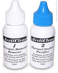 Arctic Silver ArctiClean - Thermal Surface Kit 2 x 30ml