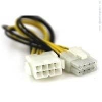 Extension Cable 8pin EPS ATX Male/Female  cable адаптер