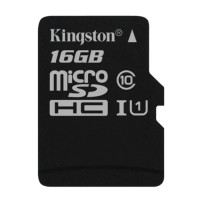 KINGSTON 16GB microSDHC Class 10 UHS-I G2 карта памет