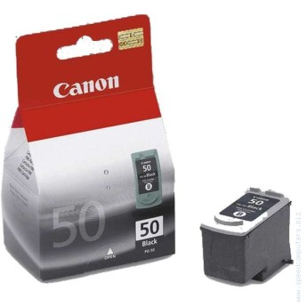 Canon PG-50 Black IJ Cartridge (22ml) for Canon JX200 and JX210P Fax models and select PIXMA MP and MX printers