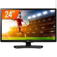 "LG 24MT49DF 23.6"" VA 16:9 HD Ready LED монитор черен"