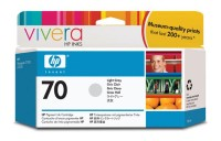 HP 70 130 ml Light Grey Ink Cartridge with Vivera Ink, HP Designjet Z2100, Z3100
